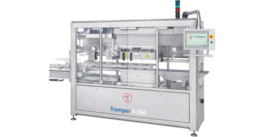 Tramper S-360 tray sealing machine